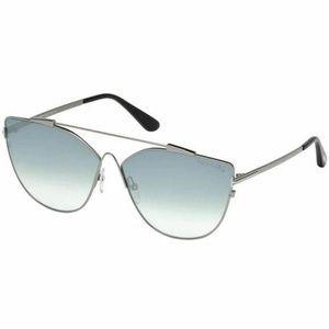 Tom Ford Sunglasses Blue Mirrored Lens